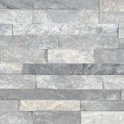 MS International M-Series Rockmount Stacked Stone Mini, Alaska Gray Mini Wall Coverings