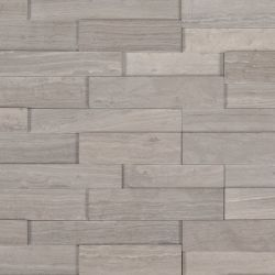 MS International M-Series Rockmount Stacked Stone 3D Mini, Gray Oak 3D Mini Wall Coverings
