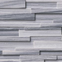 MS International Rockmount Stacked Stone 3D, Alaska Gray 3D Wall Coverings