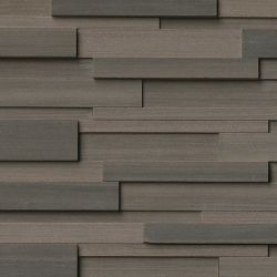 MS International Rockmount Stacked Stone 3D, Brown Wave 3D Wall Coverings