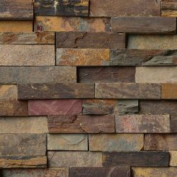 MS International Rockmount Stacked Stone, California Gold Wall Coverings