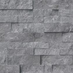 MS International Rockmount Stacked Stone, Glacial Gray Wall Coverings