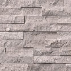MS International Rockmount Stacked Stone, Gray Oak Wall Coverings