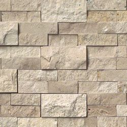 MS International Rockmount Stacked Stone, Roman Beige Wall Coverings
