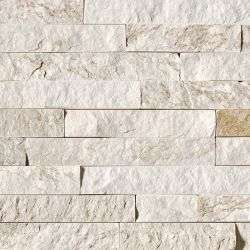 MS International Rockmount Stacked Stone, Royal White Wall Coverings