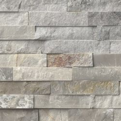MS International Rockmount Stacked Stone, Sunset Silver Wall Coverings