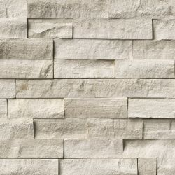 MS International Rockmount Stacked Stone, White Oak Wall Coverings