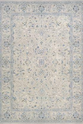 Couristan Sultan Treasures Floral Yazd Grey