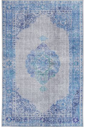 Kaleen Boho Patio Collection Blue