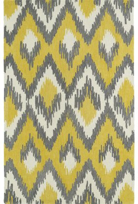 Kaleen Global Inspiration Collection Yellow