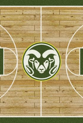 "Milliken College Home Court Colorado State Multi 10'9"" x 13'2"""