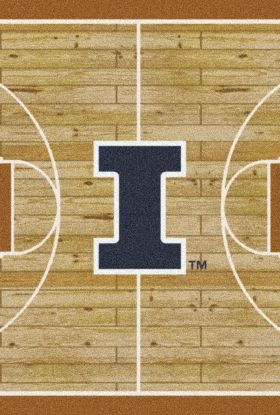 Milliken College Home Court Illinois Multi