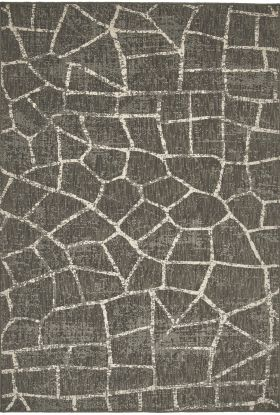 Karastan Rugs Design Concepts Simpatico Fragment Coffee Charcoal