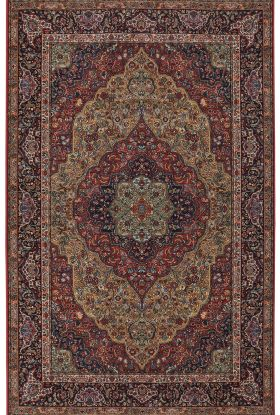Karastan Rugs Original Karastan Medallion Kirman Multi