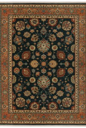 Karastan Rugs Sovereign Sultana Navy