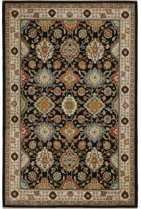 Karastan Rugs Sovereign Emir Black Multi