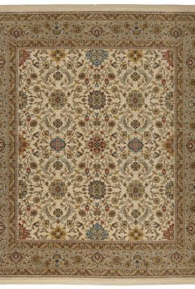 "Karastan Rugs Sovereign Marquis Cream Multi 4'3"" x 6'0"""