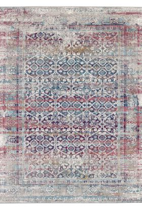 Karastan Rugs Meraki Phantasm Multi Grey
