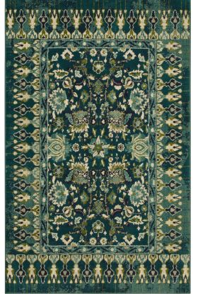 "Karastan Rugs Meraki French Valley Indigo by Patina Vie Peacock 2'0"" x 3'0"" Scatter"