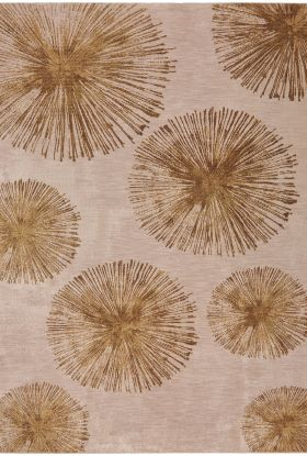 Karastan Rugs Cosmopolitan Haight Brushed Gold Antique White