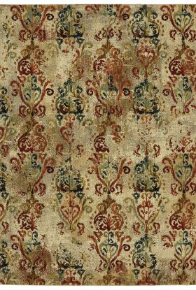 Karastan Rugs Intrigue Wile Multi Cream