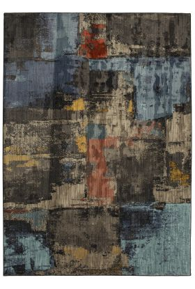 Karastan Rugs Elements Frisco Multi Onyx