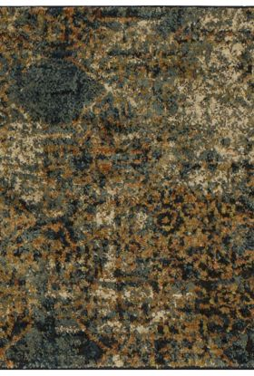 "Karastan Rugs Spice Market Luciano Aquamarine by Virginia Langley Aquamarine 2'0"" x 3'0"" Scatter"