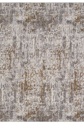 Karastan Rugs Enigma Metamorphic Brushed Gold Antique White