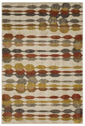 Karastan Rugs Expressions Acoustic Ginger by Scott Living Oyster