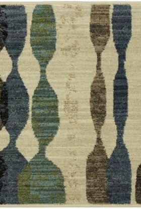 "Karastan Rugs Expressions Acoustic Lagoon by Scott Living Oyster 2'0"" x 3'0"" Scatter"