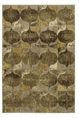 Karastan Rugs Expressions Iconograph Gold by Scott Living Taupe