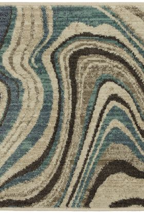 "Karastan Rugs Expressions Sediment Lagoon by Scott Living Oyster 2'0"" x 3'0"" Scatter"