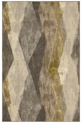 Karastan Rugs Enigma Cosenza Smokey Grey Antique White