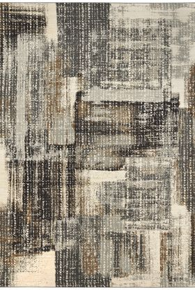Karastan Rugs Tempest Echo Midnight Natural Cotton