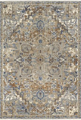 Karastan Rugs Tempest Perception Biscotti Natural Cotton