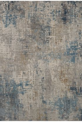 Karastan Rugs Tryst Marseille Blue Cream