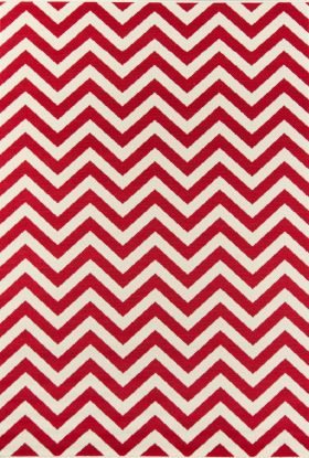 Momeni Baja Baj-9 Chevron Red