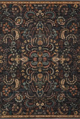 Nourison 2020 Traditional, Rustic/Vintage, Night Fall