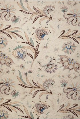 Nourison Gatsby Floral/Botanical, Traditional, Ivory