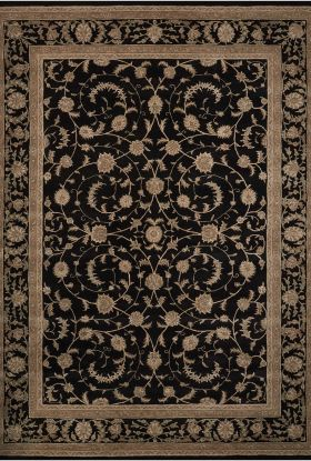 Nourison Heritage Hall Traditional Black