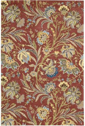 Nourison Gatsby Floral/Botanical, Traditional, Multicolor