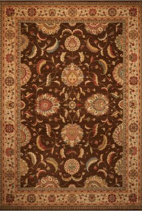 Nourison Living Treasures Traditional, Brown