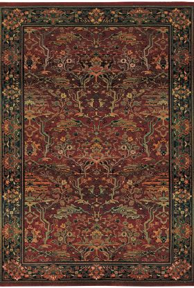 Oriental Weavers Kharma 465r Red