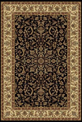 "Radici USA Noble 1318 Black 2'2"" x 8'0"" Runner"