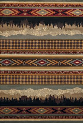 United Weavers Affinity Southwestern/Lodge Multi