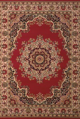 United Weavers Dallas Floral/Contemporary Red