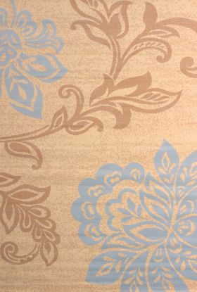 United Weavers Dallas Floral/Contemporary Blue