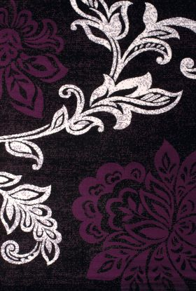 United Weavers Dallas Floral/Contemporary Plum