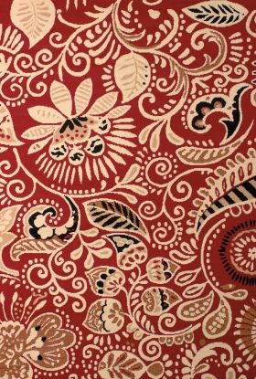 United Weavers Dallas Paisley Red