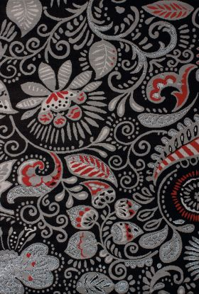 United Weavers Dallas Paisley Black